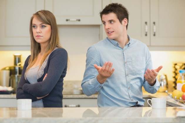 Man-trying-to-explain-to-angry-wife-Credit-Wavebreak-Media-630x419
