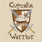 chocolate cupcake warrior